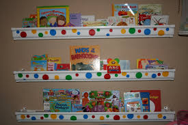 Vinyl Rain Gutter Bookshelves - rain gutter book shelves babygaga dma homes 31296