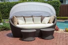 Curved Wicker Patio Furniture - 10 outdoor daybeds you u0027ll want to use indoors