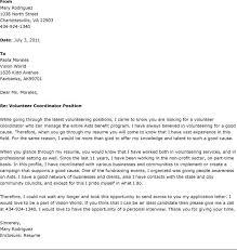 volunteer coordinator cover letter haadyaooverbayresort com