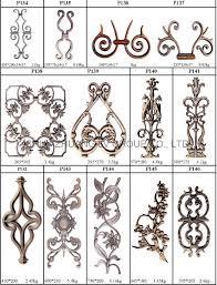 cast iron ornament design wrought iron bronze cast iron