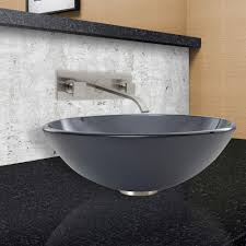 wall mount vessel sink faucets vigo titus wall mount vessel sink faucet has two handles and comes