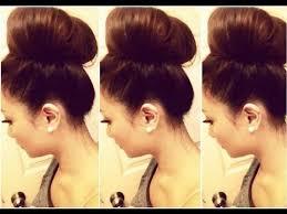 big bun hair how to big hair bun tutorial hausofcolor