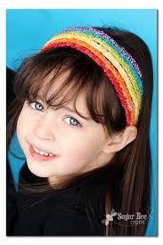 braided headbands rainbow braided headband tutorial sugar bee crafts