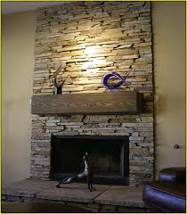 stone for fireplace stone tile fireplace surround home design ideas intended for stacked