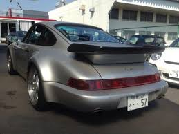 1993 porsche turbo 964 silver japanese used cars auction