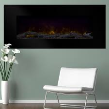 northwest 50 in wall mount color changing led electric fireplace