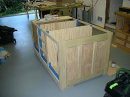 how to build a kitchen island with cabinets wooden pallet kitchen island cabinets build diy using ikea
