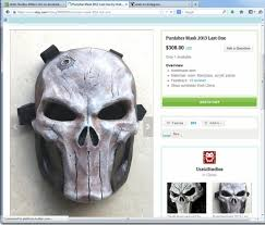 mask for sale last bone punisher mask for sale by uratz studios on deviantart