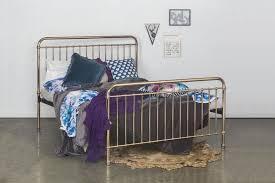 rose gold bed frame our eden double rose gold metal bed
