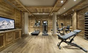 Ski Chalet Interior Inside The Luxury 80 000 Per Week Courchevel Ski Chalet That
