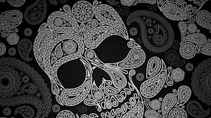 girly computer wallpapers cute skull background wallpapersafari