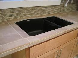 Countertop Tile Undermount Sink With Tile Countertop Szfpbgj Com