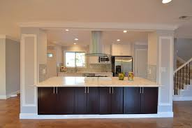 kitchen islands with columns kitchen with crown molding high ceiling in dublin ca zillow