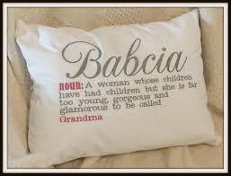 grandmother gift babcia gift babcia babcia pillow grandmother