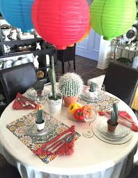 themed table decorations interior design awesome mexican themed table decorations home