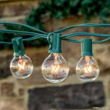g40 string lights cheap string lights 25ft clear globe bulb g40 string light set