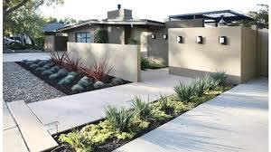 Modern Front Garden Design Ideas 50 Modern Front Yard Designs And Ideas Modern Minimalist