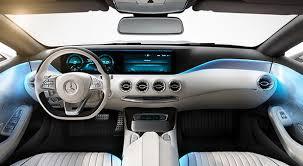 mercedes inside garmin demos futuristic sat nav display inside mercedes s class