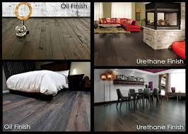 versus urethane finished wood floors