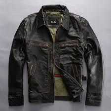 Cowhide Leather Vest Online Get Cheap Motorcycle Riders Jacket Aliexpress Com