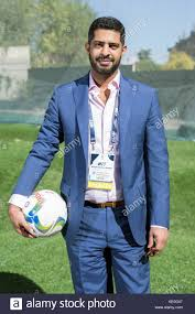 madrid spain 17th oct 2017 nasser fahad al khater 2022 fifa