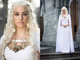 my homemade daenerys targaryen costume happy halloween reddit pics
