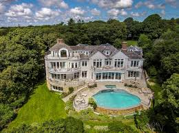 13 9 million waterfront shingle mansion in osterville ma homes