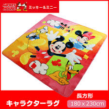 Micky Mouse Rug Reveur Rakuten Global Market Mickey Mouse Accent Rug Rectangle
