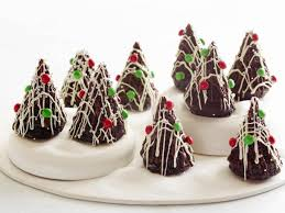 christmas chocolate moist chocolate cake trees recipe food network