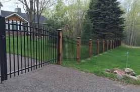 wrought iron fence companies somerset wi fencing contractors