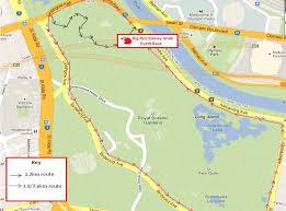 Royal Botanical Gardens Melbourne Map Melbourne