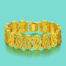 free size bracelet images Chinese style gold jewelry men 24k gold bracelet design good jpg