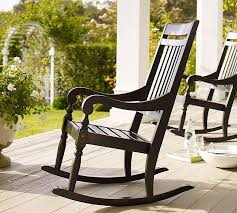 handcrafted rocking chair for relaxing outdoor moments