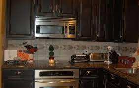 painting kitchen cabinets black black painted oak kitchen