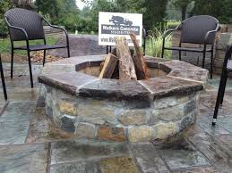 Concrete Firepits Walkers Concrete Llc Cincinnati Outdoor Fireplaces And Pits