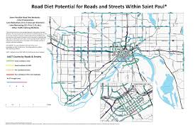Seattle City Limits Map by Analyzing Potential Road Diet Candidates In St Paul Streets Mn