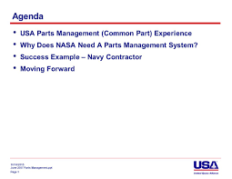 lessons learnt report template 10 14 2015 june 2007 parts management ppt agency wide part 2