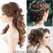 id e coiffure pour mariage idée coiffure mariée fashion designs