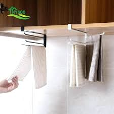 kitchen cabinet towel rack hanging towel rack madebytom co