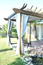 Outdoor Gazebo With Curtains Curtains For Gazebo Outdoor Garden Gazebo Tent Marquee