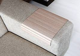 amazon com sofa tray table oak tree sofa arm tray armrest