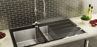 Glass Sinks Contemporary Kitchen Sinks - Glass sink kitchen