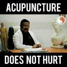 Acupuncture Meme - dr muthukumar on twitter do not fear the needle listen to what