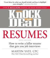 Knock Them Dead Resume Creative Resume Templates Free Templates Free