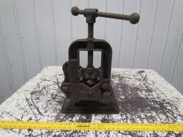 crane nye tool works vintage pipe vise u0026 antique stand old tool ebay