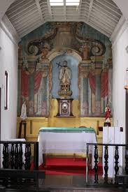 alter barroco com pinturas da igreja de são francisco xavier em