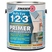 zinsser bulls eye 1 2 3 1 gal water based gray interior exterior