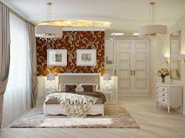 Luxurious Master Bedroom Decorating Ideas 2012 Red Cream Bedroom Decor Interior Design Ideas