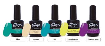 new spring colors gel on off thuya professional line english