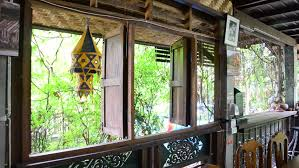 Light Wooden Thai Style Stock Footage Video  Shutterstock - Thai style interior design